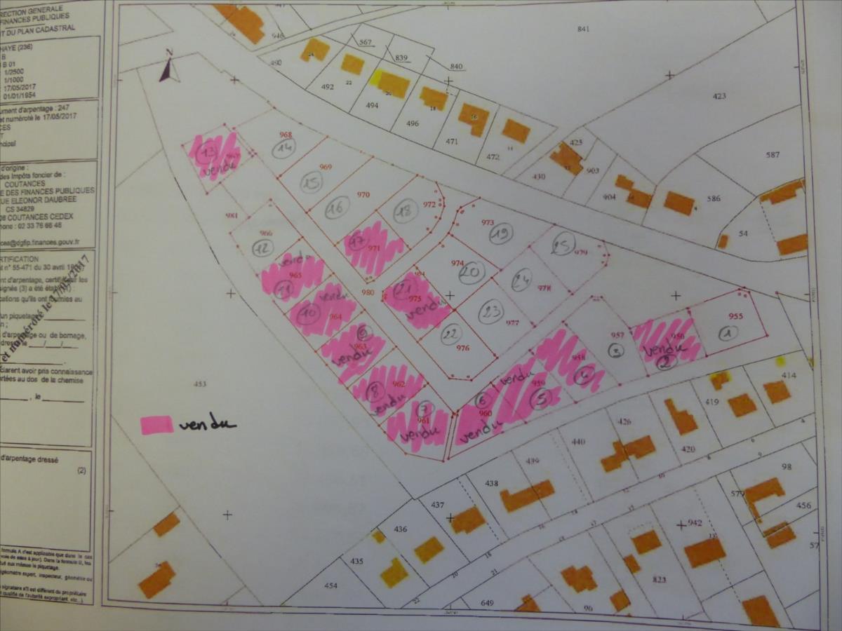 terrain en vente La Haye